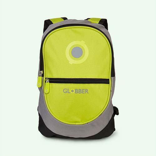 Lime Globber Little Backpack