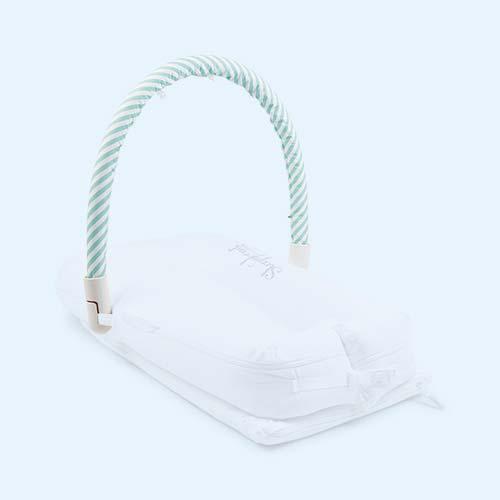 Aqua Stripe Sleepyhead Baby Pod Toy Arch