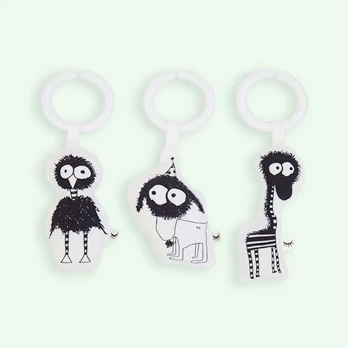 Black Sleepyhead Baby Pod Toy Set