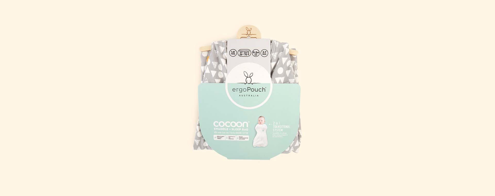 Triangle Pops Ergopouch Ergococoon 1 Tog