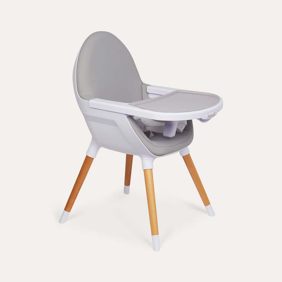 Grey Koo-di Duo Wooden Highchair