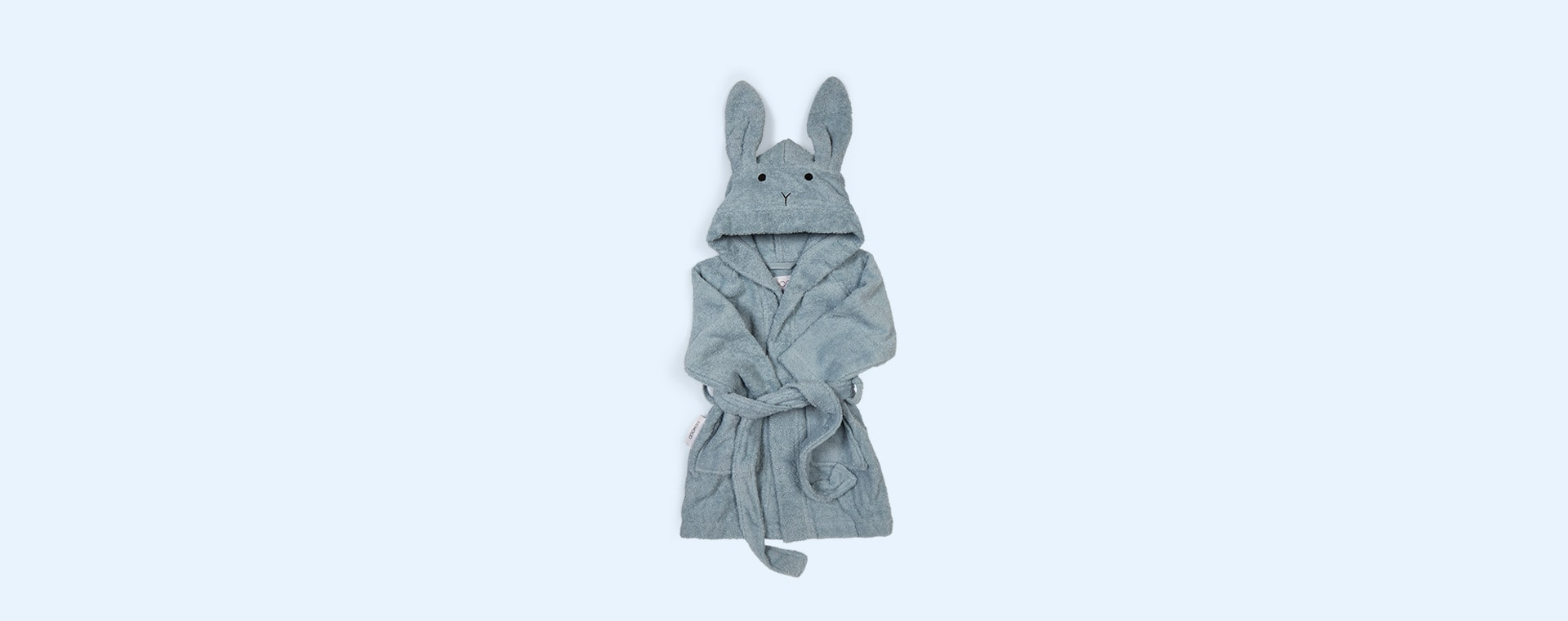 Rabbit Sea Blue Liewood Lily Bathrobe