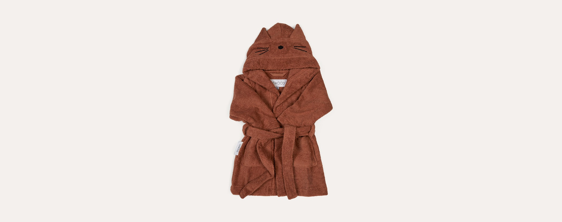 Cat Terracotta Liewood Lily Bathrobe