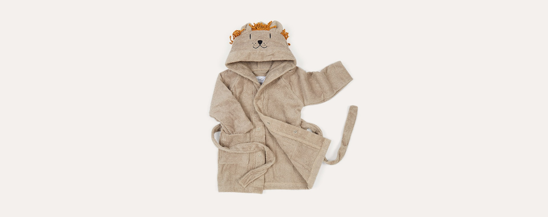 Lion Stone Beige Liewood Lily Bathrobe