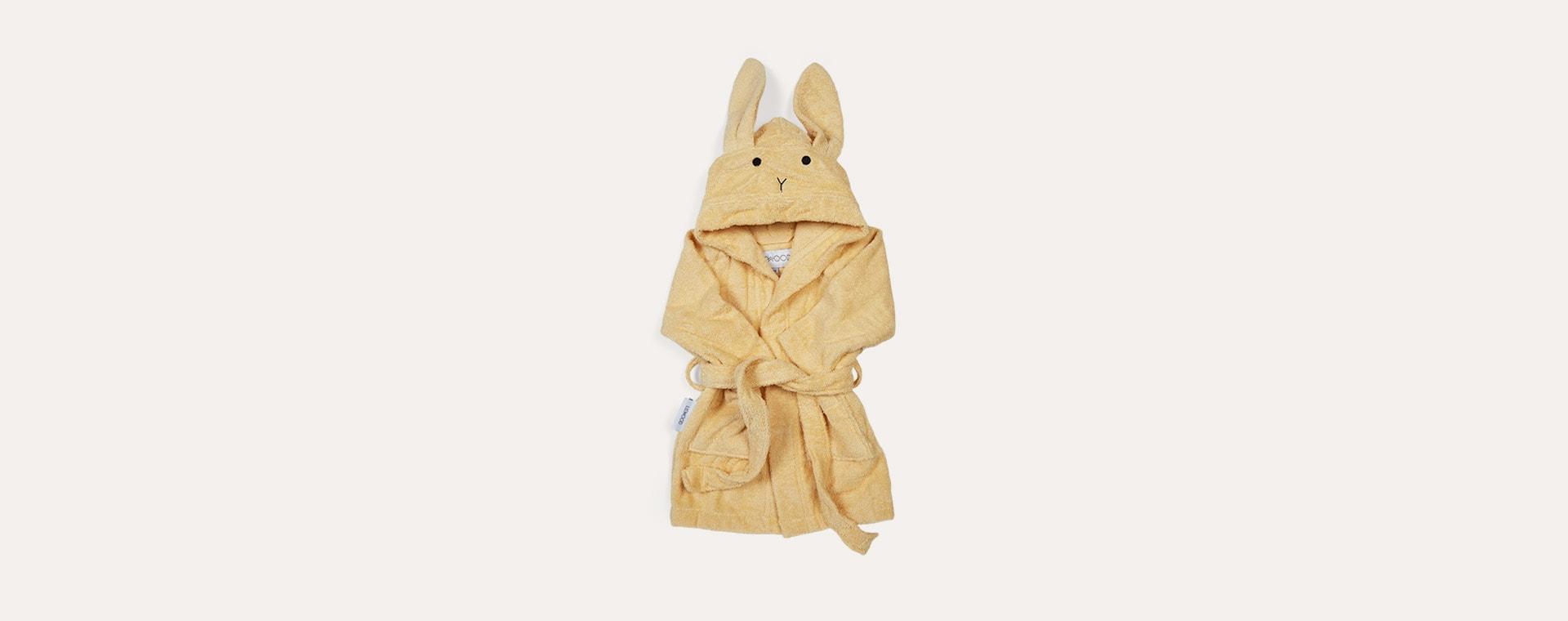 Rabbit Smoothie Yellow Liewood Lily Bathrobe
