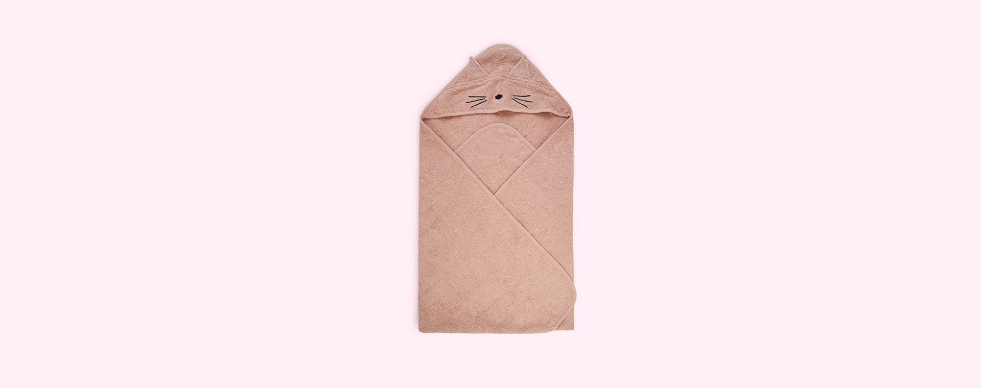 Cat rose Liewood Augusta Hooded Towel