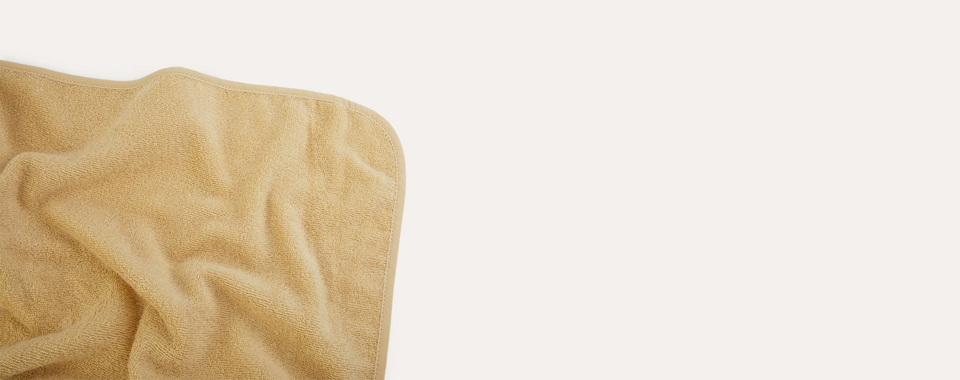 Mouse Wheat Yellow Liewood Augusta Hooded Towel
