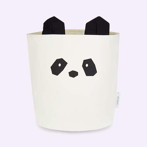 Panda Creme de la Creme Liewood Ella Fabric Basket