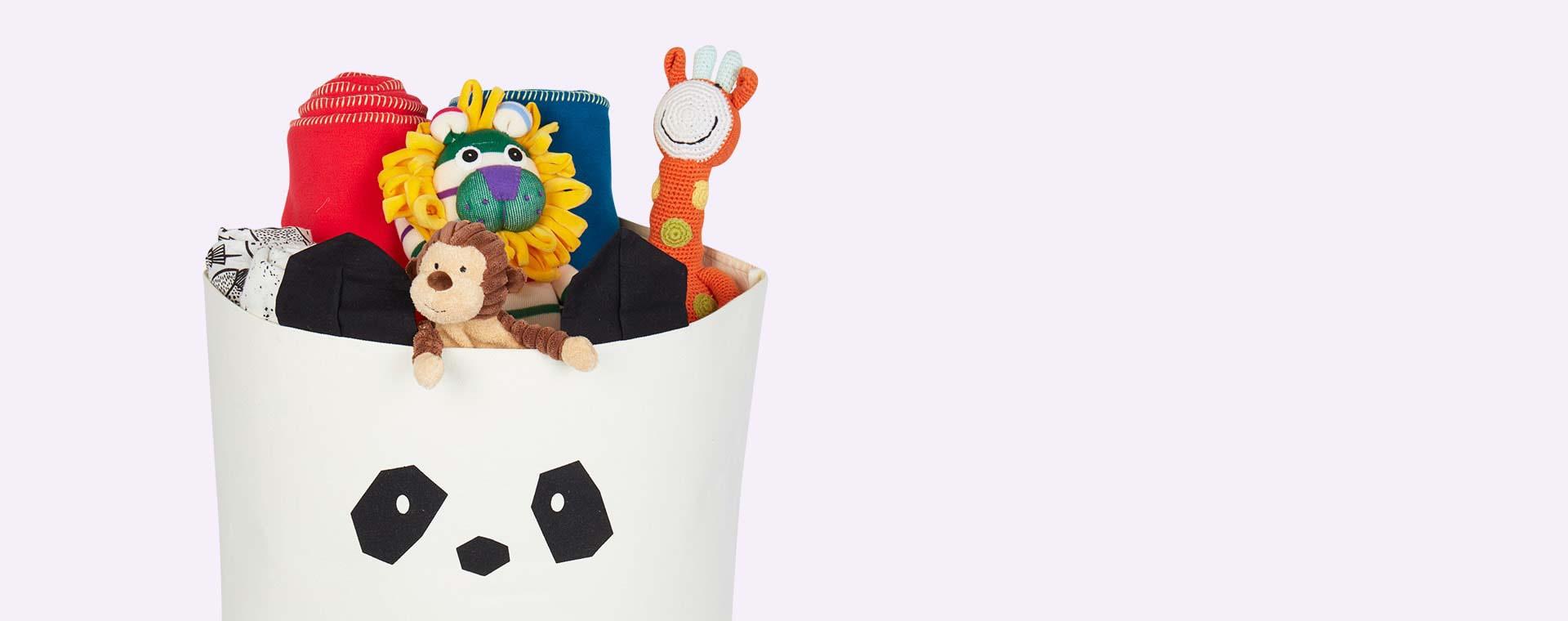 Panda Creme de la Creme Liewood Aya Fabric Basket