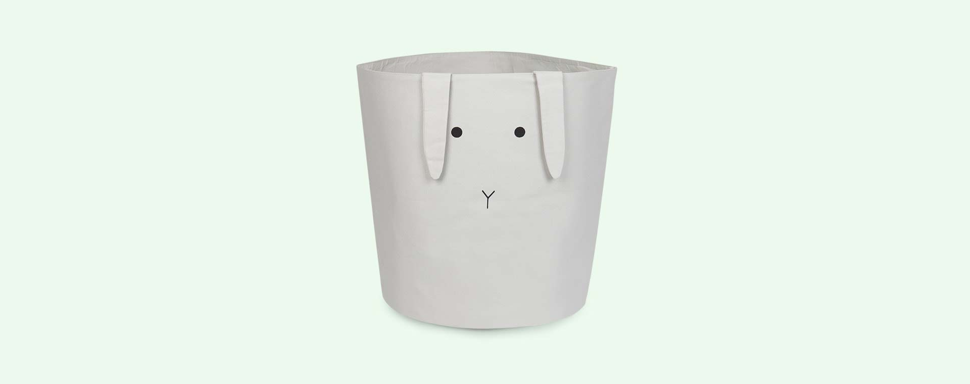 Rabbit Bumbo Grey Liewood Aya Fabric Basket