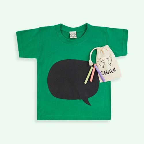 Speech Bubble Little Mashers Chalkboard Tee