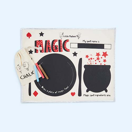 Magic Little Mashers Chalkboard Placemat