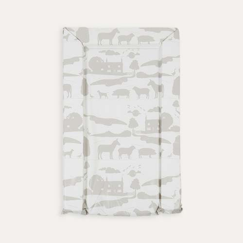 Grey East Coast Nursery On The Farm Changing Mat