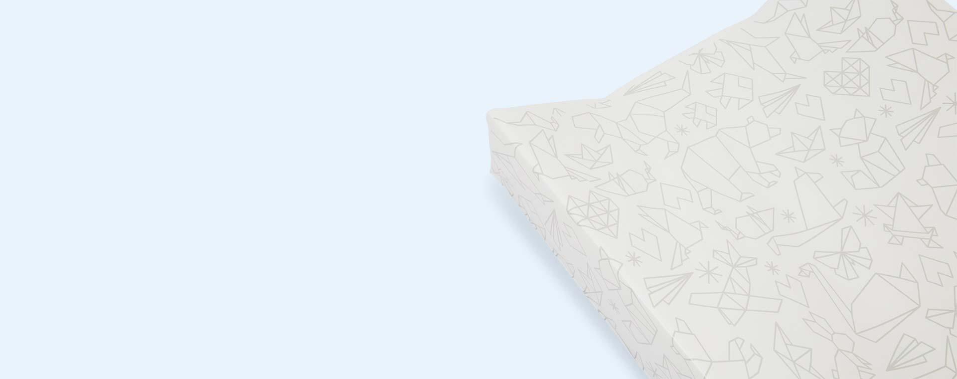 Origami East Coast Nursery Printed Wedge Changing Mat