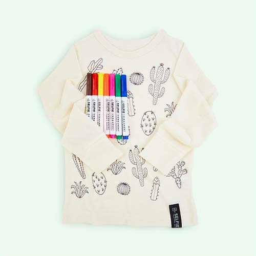 Cactus Selfie Clothing Co Colour-In Top