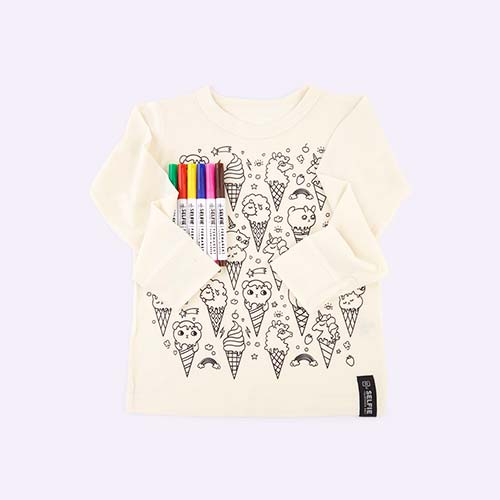 Ice Cream Selfie Clothing Co Colour-In Top