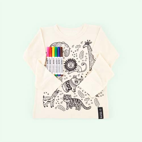 Jungle Selfie Clothing Co Colour-In Top