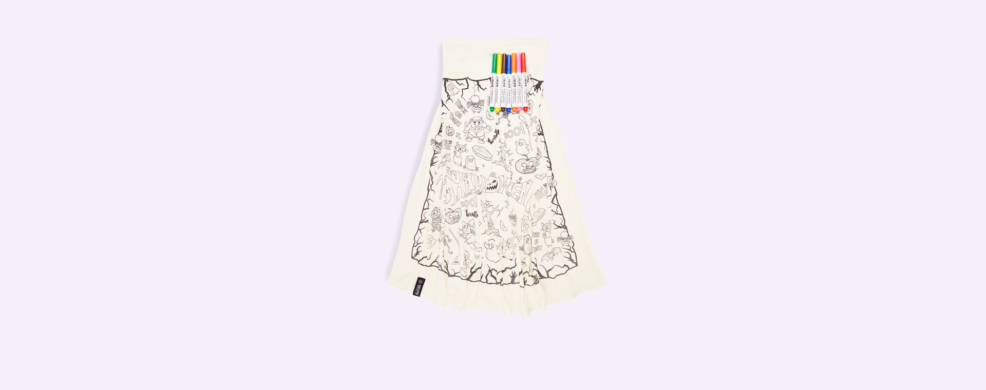 Halloween Selfie Clothing Co Colour-In Cape