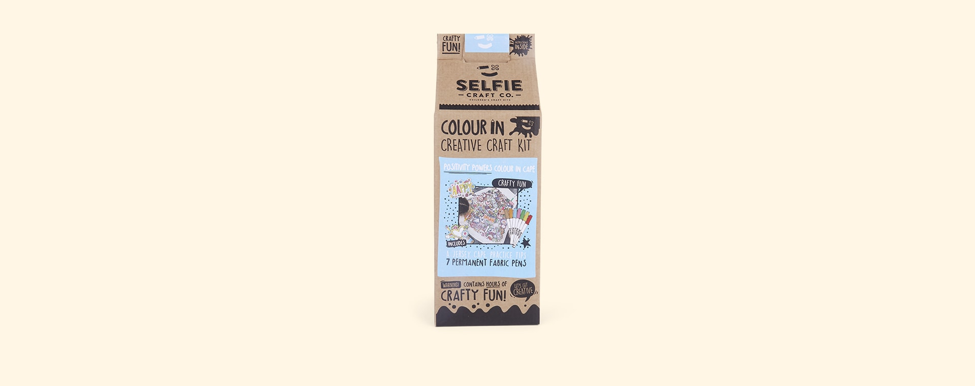 Positivity  Powers Selfie Craft Co Colour-In Cape