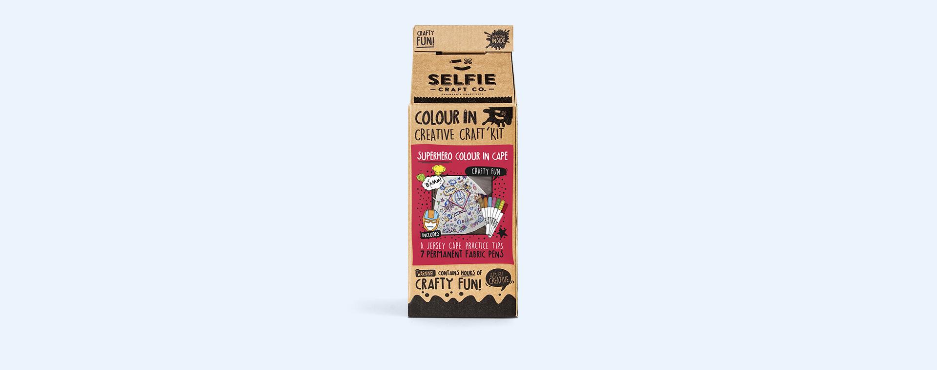 Superhero Selfie Craft Co Colour-In Cape