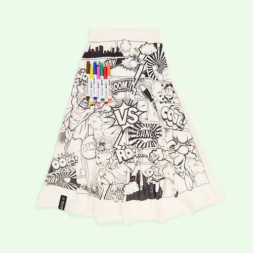 Superhero City Selfie Clothing Co Colour-In Cape