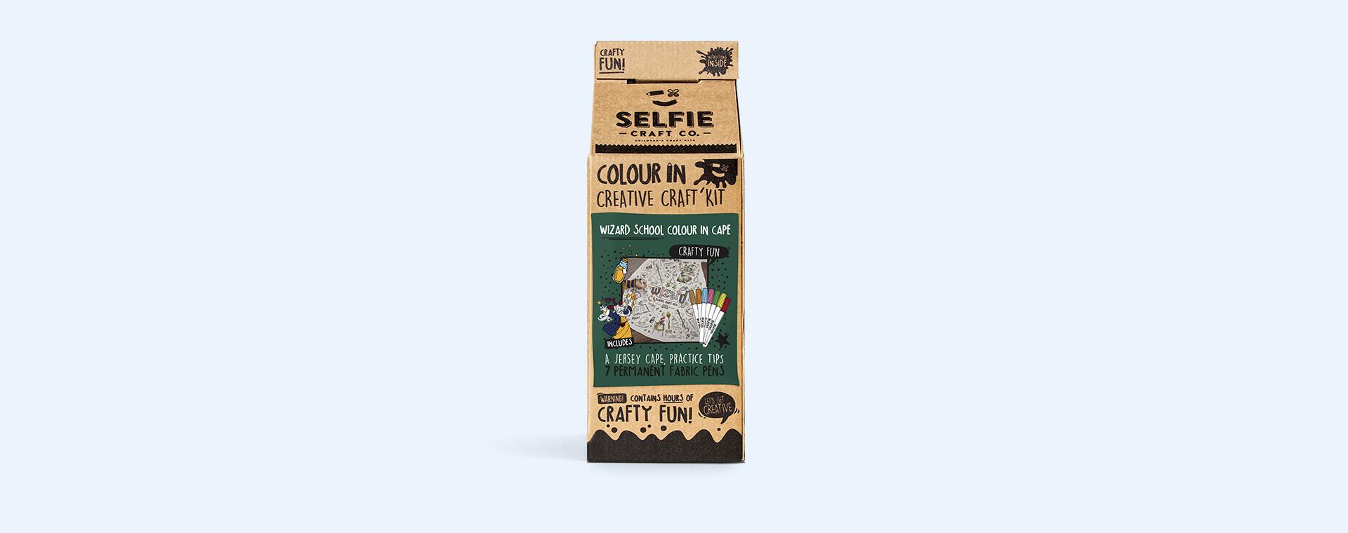 Wizard Selfie Craft Co Colour-In Cape