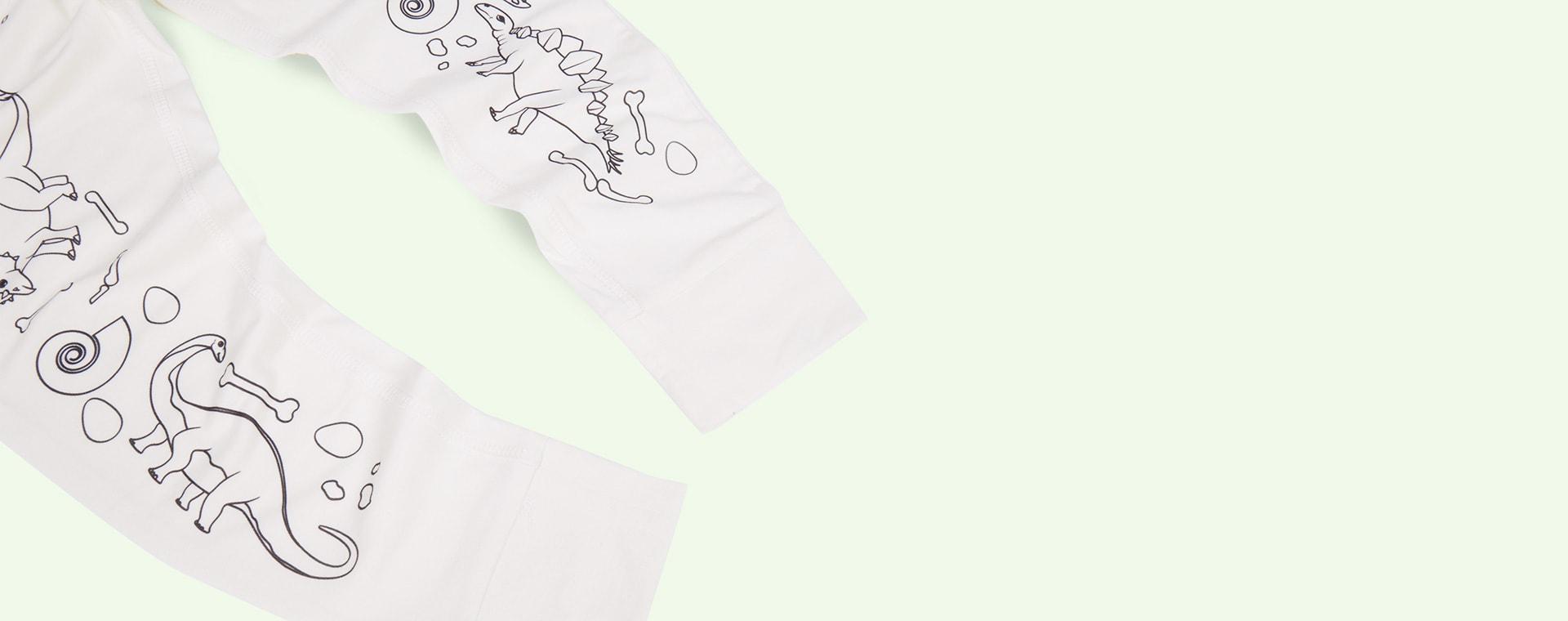 Dinosaur Selfie Craft Co Colour-In Pyjamas