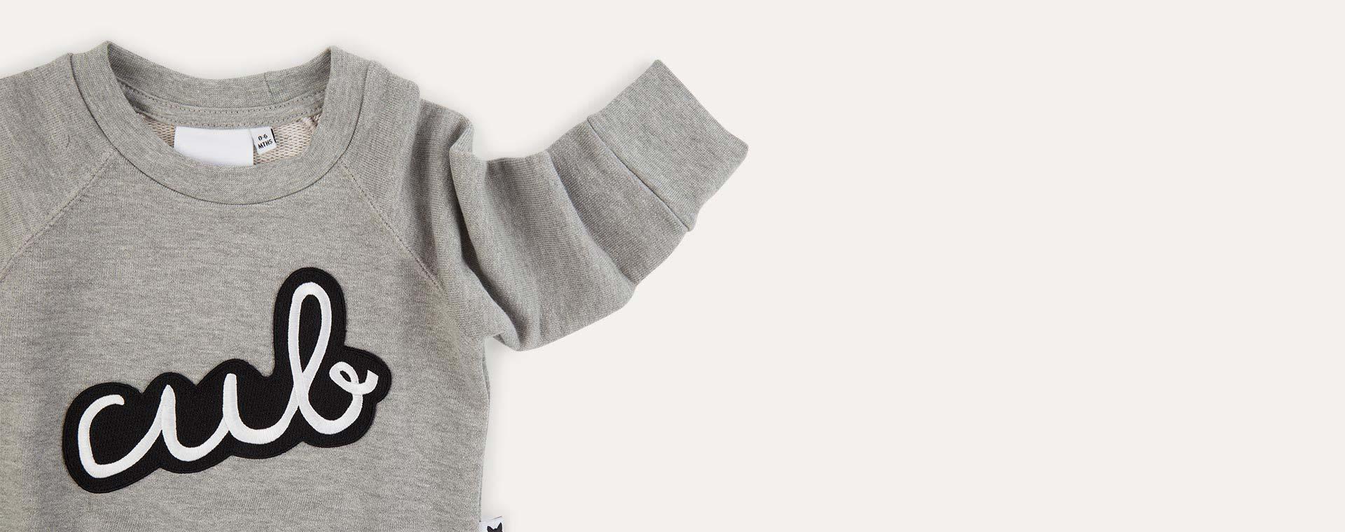 Grey tobias & the bear Icons Cub Sweatshirt
