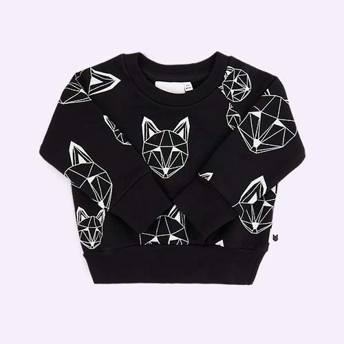 Black tobias & the bear Just Call Me Fox Multi Sweatshirt