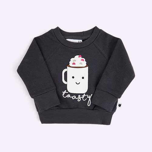Grey tobias & the bear Toasty Loopback Sweatshirt