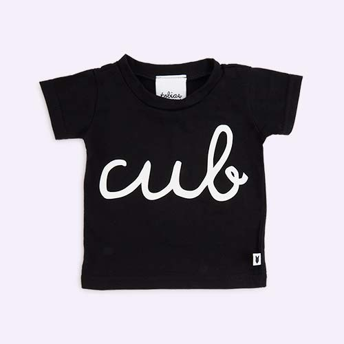 Black tobias & the bear Cub Tee