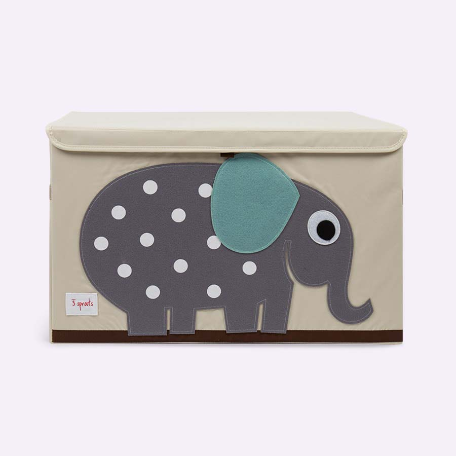 Elephant 3 Sprouts Toy Chest