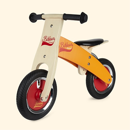 Orange Janod Little Bikloon My First Balance Bike