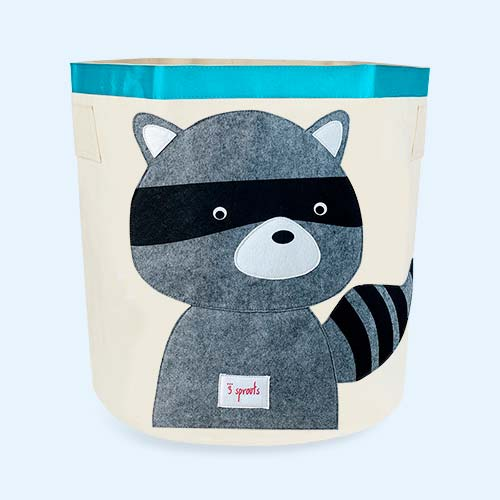 Racoon 3 Sprouts Storage Bag