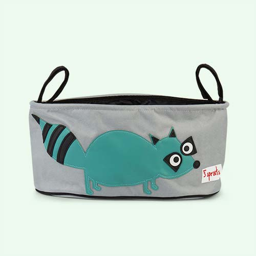 Racoon 3 Sprouts Stroller Organisr