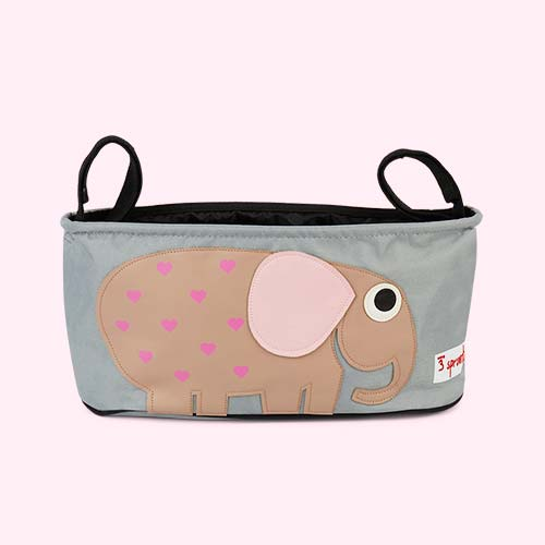 Elephant 3 Sprouts Stroller Organisr