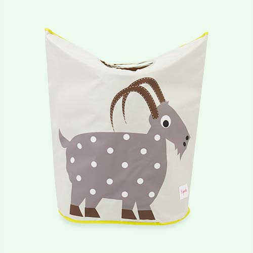 Goat 3 Sprouts Laundry Hamper