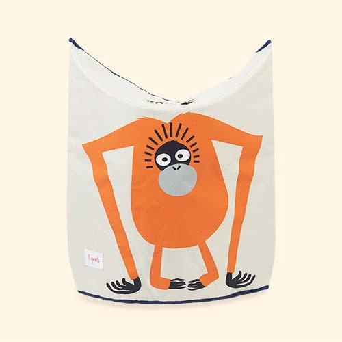 Orangutan 3 Sprouts Laundry Hamper