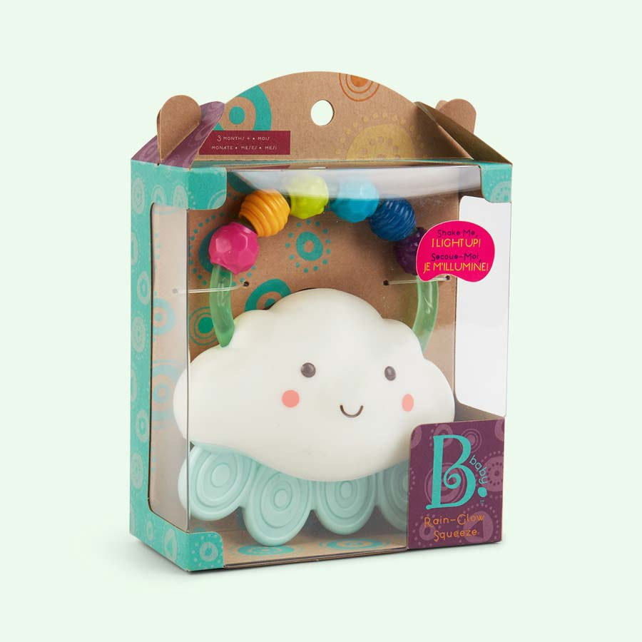 White B. Toys Cloud Teether