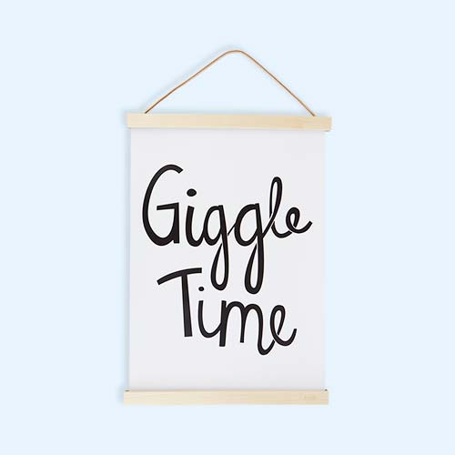 White Mini Learners Giggle Time Poster
