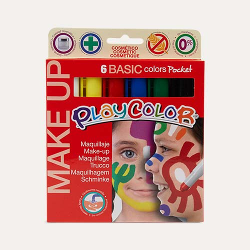Basic Playcolor Pocket Basic Make-Up Set - 6 Pack