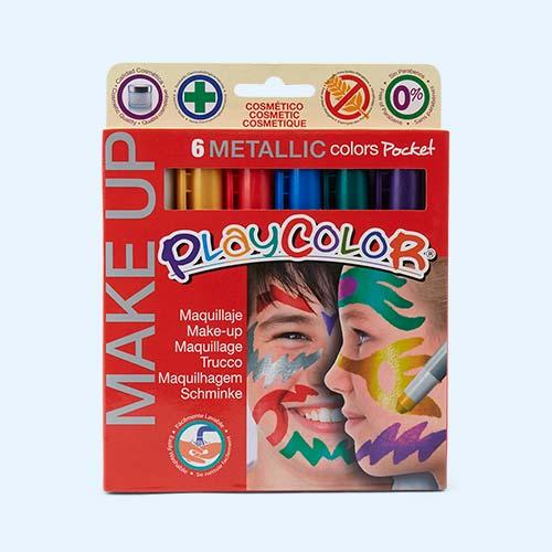 Metallic Playcolor Pocket Basic Make-Up Set - 6 Pack
