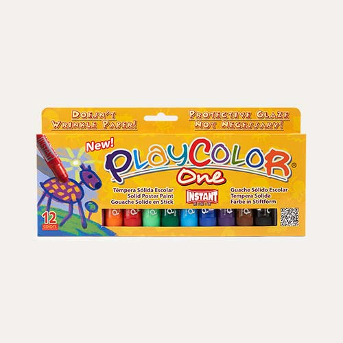 Multi Playcolor Solid Poster Paint Sticks - 12 Pack