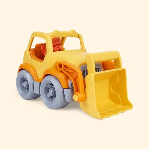 Orange Green Toys Scooper Truck