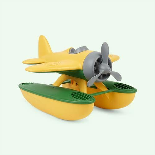 Yellow Green Toys Sea Plane