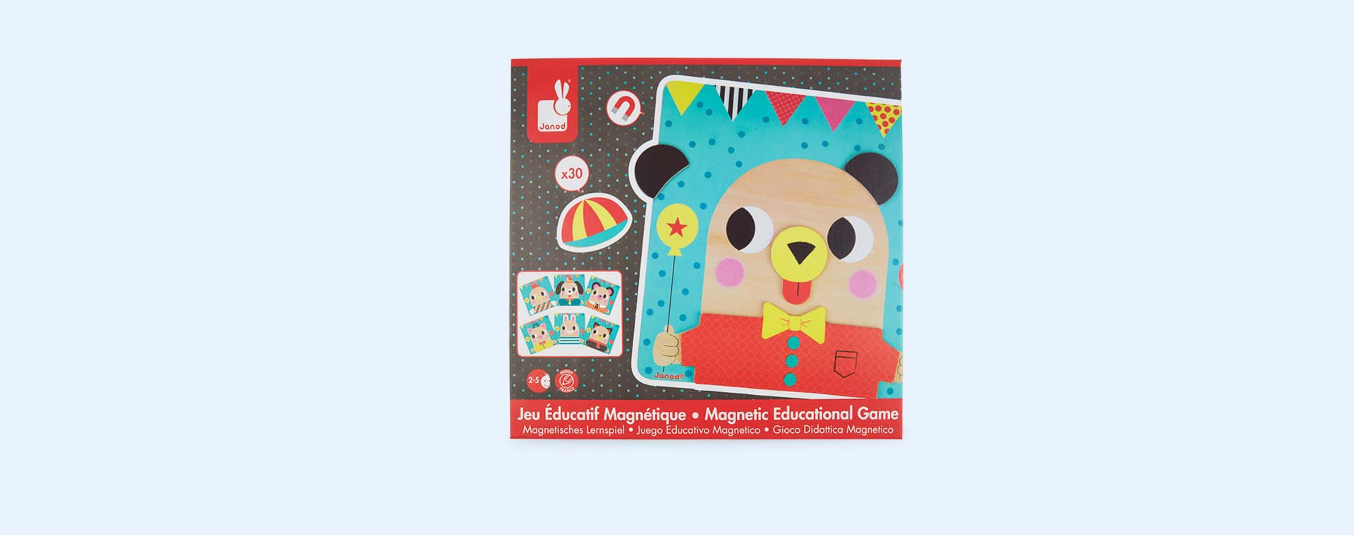 Multi Janod Magnetic Educational Game