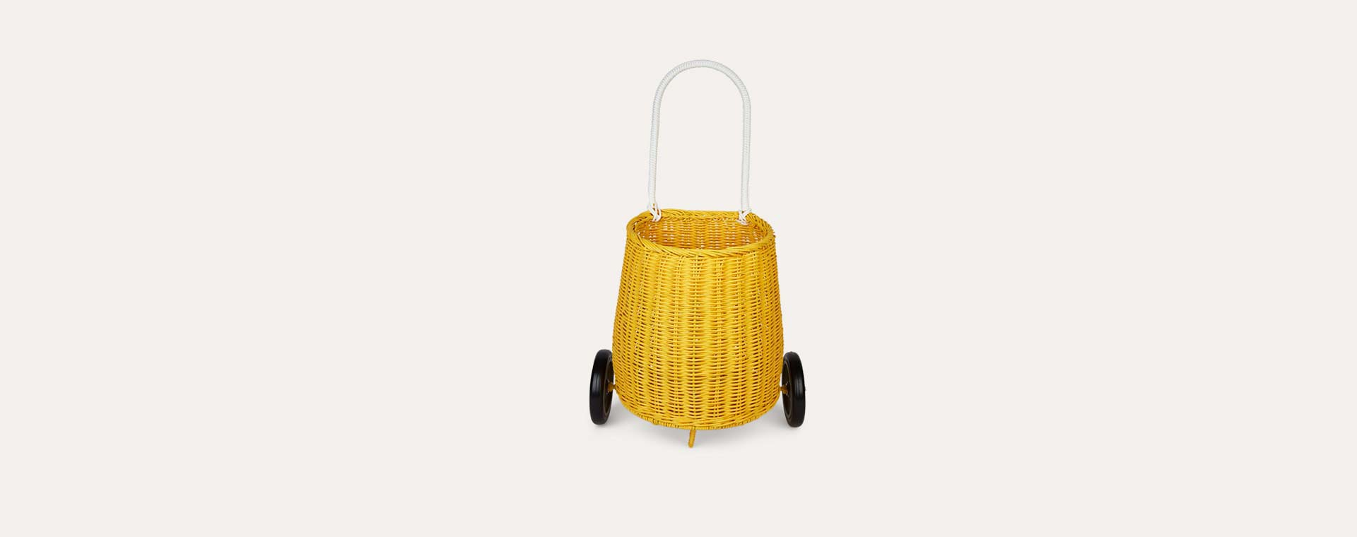 Yellow Olli Ella Luggy Basket