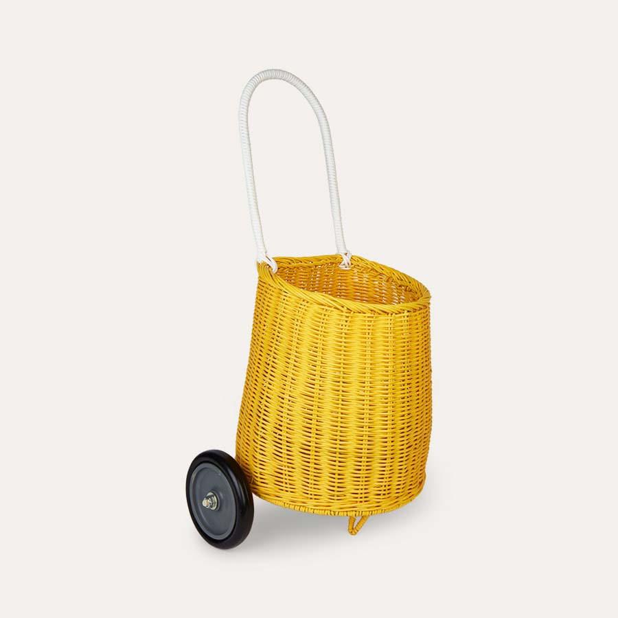 Yellow Olli Ella Luggy Basket