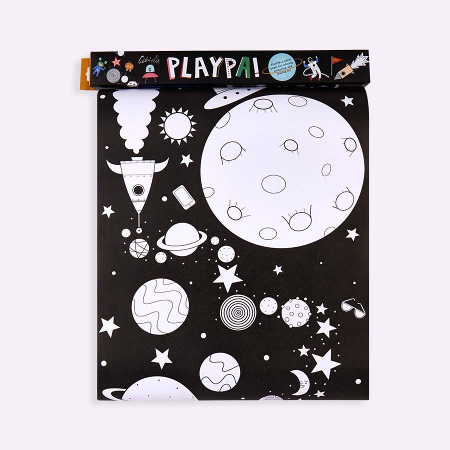 Space Olli Ella Playpa Paper Roll