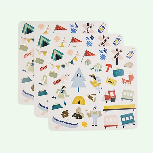 Forest Olli Ella Playpa Stickers